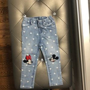 Disney Mickey and Minnie jeans